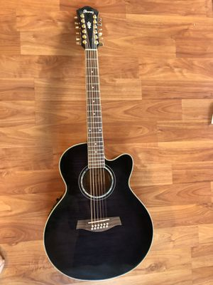 Ibanez AEL2012-TKS-1401 Electric Full Size 12 Strings Acoustic Guitar Everything works great for Sale in Fremont, CA