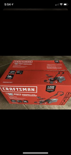 Craftsman self propelled cordless mower (brand new) for Sale in Puyallup, WA