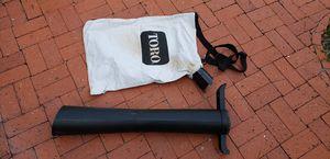 Toro Electric Blower Vacuum Leaf Attachment for Sale in Tampa, FL