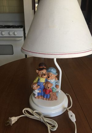 1991 Princess House Berenstain Bears Lamp for Sale in Los Angeles, CA
