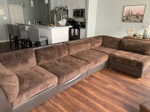 Brown sectional for Sale in Virginia Beach, VA