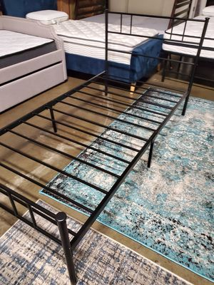 Twin Size Metal Bed Frame for Sale in Santa Ana, CA