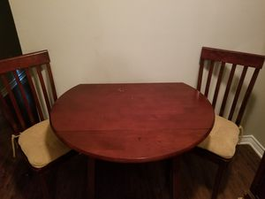 Kitchen Table With 2 Chairs for Sale in Weldon Spring, MO