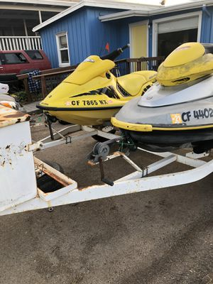 Seadoo jetskis with trailer for Sale in Morro Bay, CA