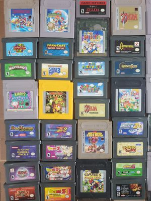 Nintendo gameboy and gameboy advance games for Sale in Tampa, FL