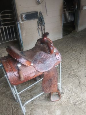 Circle y western saddle for Sale in Cypress, CA