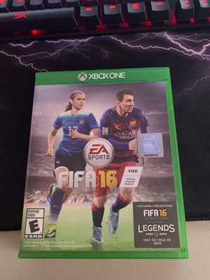 FIFA 16 for Xbox one for Sale in Dublin, OH