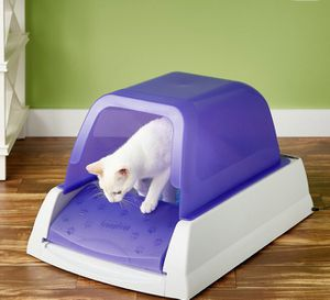 ScoopFree Ultra Automatic Cat Litter Box, Purple for Sale in Vancouver, WA