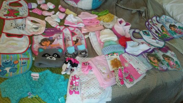 Variety of Brand New Baby Clothes