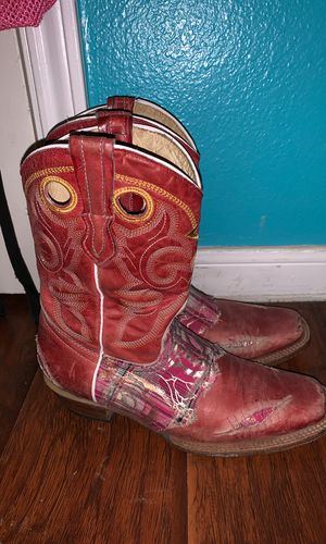 Pink boots for Sale in Houston, TX