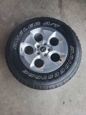 Jeep wheel and tire for Sale in Burbank, CA