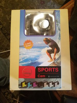 "NEW SPORT CAM. LIKE""GOPRO"" 2 INCH SCREEN. HIGH DEFINITION 1080 PIXELS, for Sale in Fort Mill, SC"
