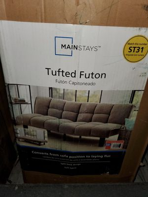 Mainstay - tufted futon for Sale in Compton, CA