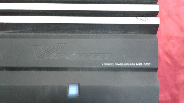 Alpine V-Power 250 Watt car amp