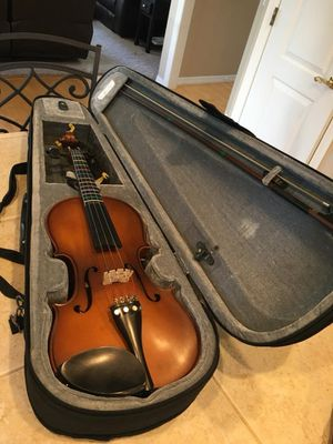 3/4 Violin with Bow and Case for Sale in Milwaukie, OR