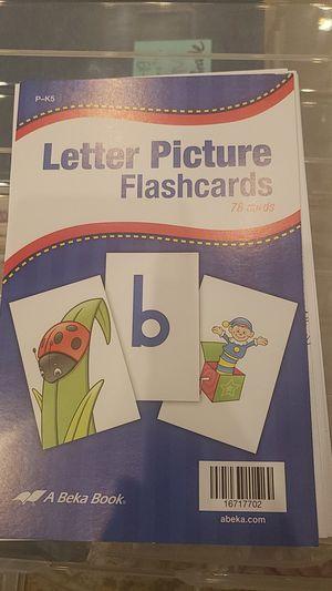 Abeka K4-K5 Letter Picture 78 flashcards + for Sale, used for sale  Fort Lauderdale, FL