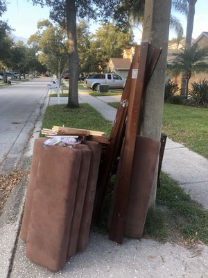2 Free twin bed frames and one mattress for Sale in Riverview, FL
