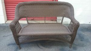 Outdoor Chair with cushion and table for Sale in Raleigh, NC