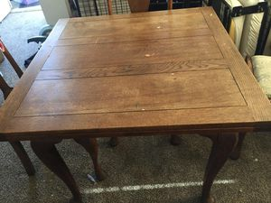 Antique Wood Table for Sale in Fresno, CA