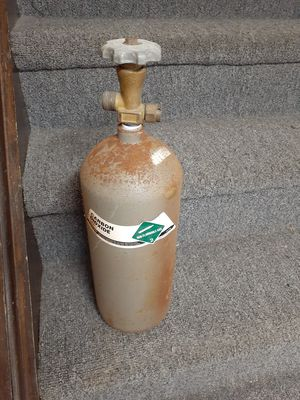 5lb steel CO2 tank for Sale in Marengo, OH