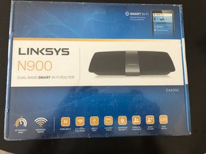 Linksys router brand new for Sale in Aurora, CO