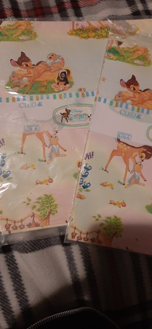 Vintage Cleo Bambi wrapping paper for Sale in San Jacinto, CA