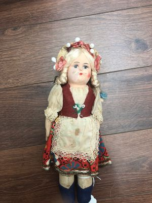 Antique cloth doll from the 1950s - European for Sale in AZ, US