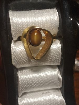Retro tigers eye ring for Sale in Akron, OH