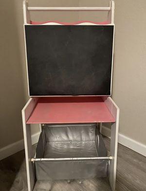 pink kids Easel/Desk for Sale in Riverside, CA
