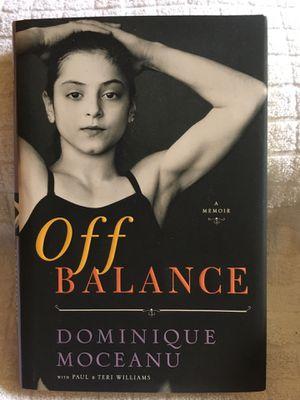 """Off Balance"" A Memoir Dominique Moceanu for Sale in Portland, OR"