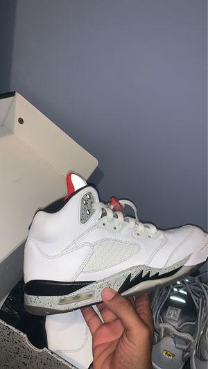 Jordan 5 cement 8.5 for Sale in Winder, GA
