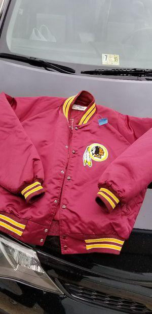 Vintage Throwback Washington Redskins Chalk Line Letterman Varsity Jacket Men's for Sale in Springfield, VA