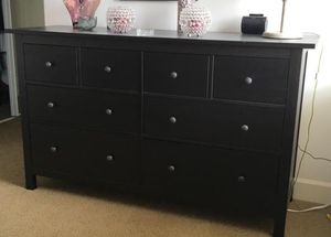 Ikea black hemnes dresser. Pick up only. for Sale in San Diego, CA