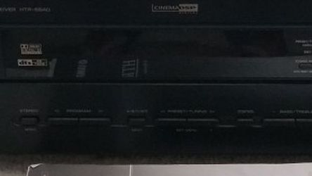 Yamaha HTR 5640 5.1 Home Theater Receiver for Sale in Menlo Park,  CA