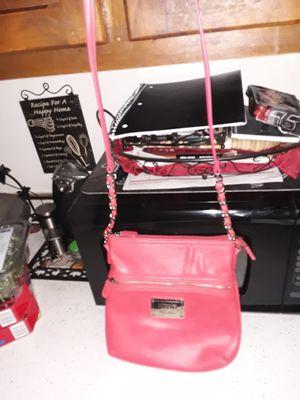 Like Nu Nicole Miller purse orange in color for Sale in Addison, IL