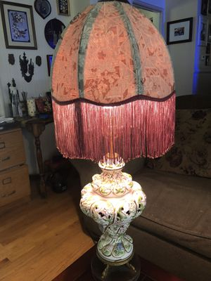 Capodimonte Antique lamp for Sale in San Leandro, CA