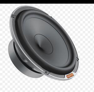 Hertz mpk pro 6.5 mids audiophile sq car audio speakers for Sale in Fontana, CA