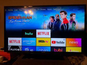 Samsung 43 flat screen tv w remote for Sale in Clovis, CA