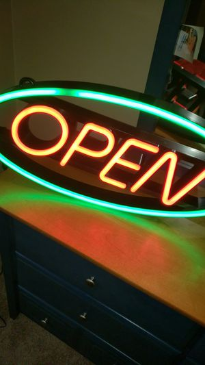 Open sign for business for Sale in Indian Trail, NC