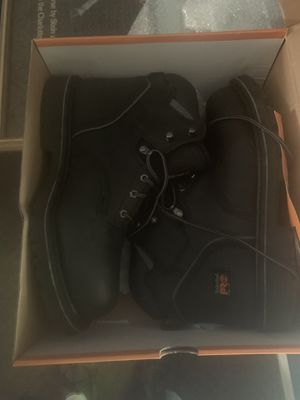 NEW Timberland Pro steel toe boots size 12 for Sale in Bloomington, IL