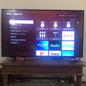 TCL 55 Inch 4K TV for Sale in San Diego, CA
