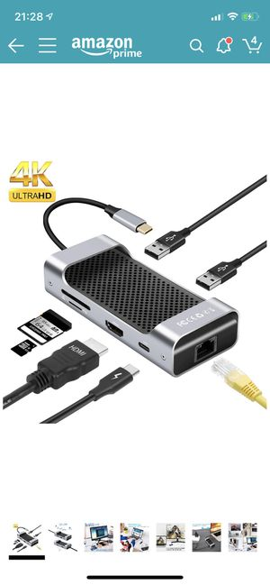 USB C Hub for Sale in Houston, TX