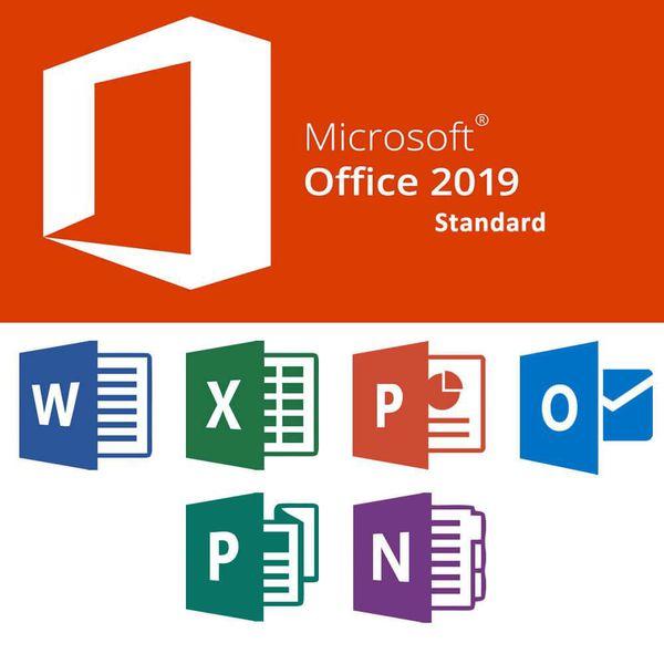 Physical [Microsoft] Office Pro Plus 2019/2020 Copy
