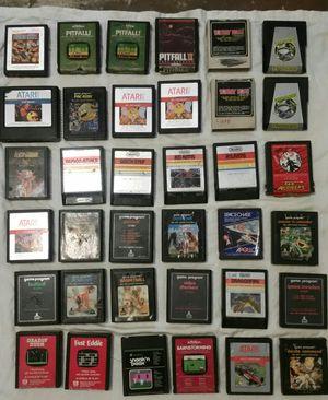 Atari games all original for Sale in Sacramento, CA