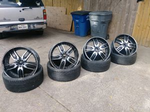 Ties and Rims for Sale in Dallas, TX