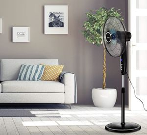 Black Fan For Living Room for Sale in Tampa, FL
