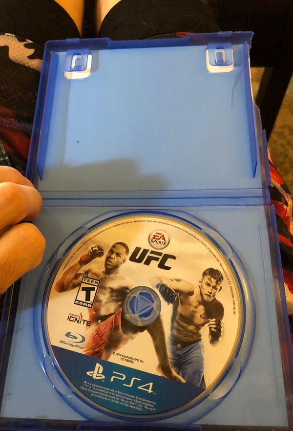 UFC for PS4 game