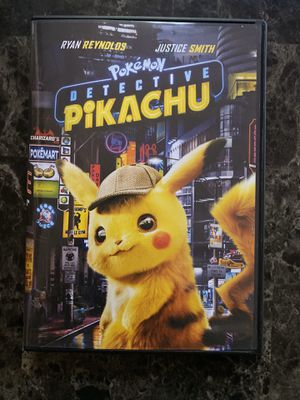 Detective Pikachu DVD for Sale in Fremont, CA