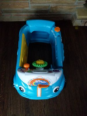 Fisher-Price Laugh & Learn Smart Stages Crawl Around Car, Blue for Sale in Minneapolis, MN
