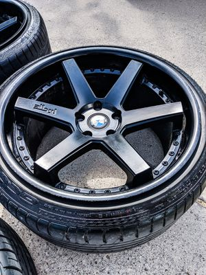 Niche Altair staggered 20 in wheels and tires for Sale in Saginaw, TX